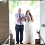 Father and Daughter at Cady Acres Wedding Barn