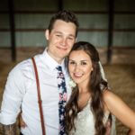 Mr. and Mrs. Wolf — Rustic grain bin at Cady Acres